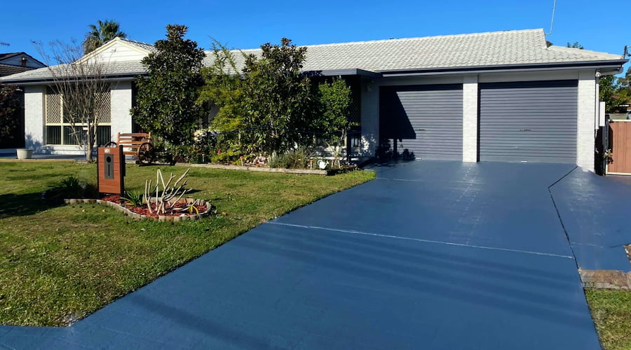 Driveway Restorations After - JMV Roofing